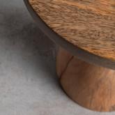Niedriger Hocker aus Holz Daki (46 cm), Miniaturansicht 3