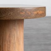 Niedriger Hocker aus Holz Daki (46 cm), Miniaturansicht 5