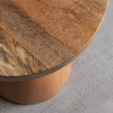 Niedriger Hocker aus Holz Joli (46 cm), Miniaturansicht 3