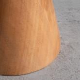 Niedriger Hocker aus Holz Joli (46 cm), Miniaturansicht 5