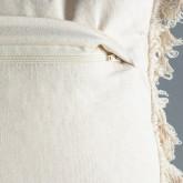 Rechteckiges Kissen aus Baumwolle (15x50 cm) Elas, Miniaturansicht 4