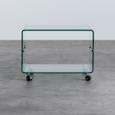 Couchtisch Rechteckig aus Glas (60x40 cm) Rolcras, Miniaturansicht 4