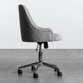 Verstellbarer Bürostuhl mit Räder Otys, Miniaturansicht 3