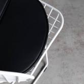 Esszimmerstuhl aus Stahl Amber Edition White, Miniaturansicht 6