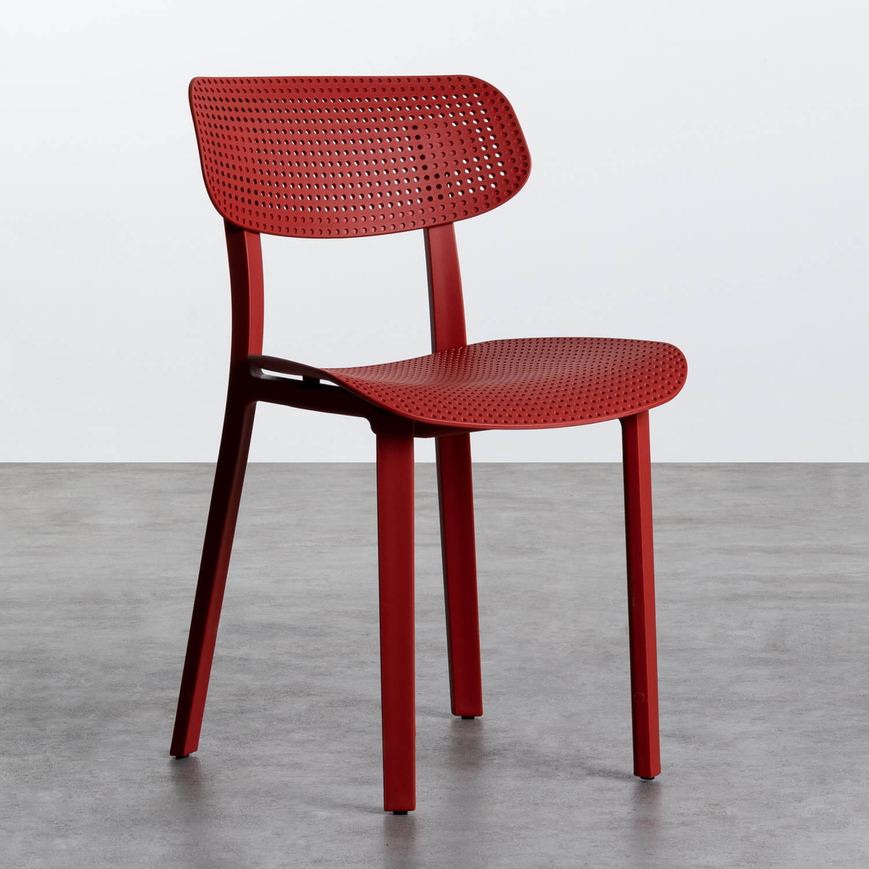 Outdoor Stuhl aus Polypropylen Dasi Netz, Galeriebild 1