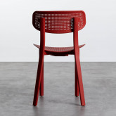 Outdoor Stuhl aus Polypropylen Dasi Netz, Miniaturansicht 4