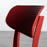 Outdoor Stuhl aus Polypropylen Dasi Netz, Miniaturansicht 7