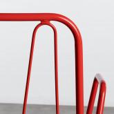 Esszimmerstuhl aus Metal Matil, Miniaturansicht 6