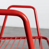 Esszimmerstuhl aus Metal Matil, Miniaturansicht 7