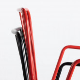 Esszimmerstuhl aus Metal Matil, Miniaturansicht 9