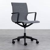 Verstellbarer Bürostuhl mit Räder Mid Back Jones, Miniaturansicht 3