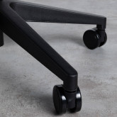 Verstellbarer Bürostuhl mit Räder Mid Back Jones, Miniaturansicht 8