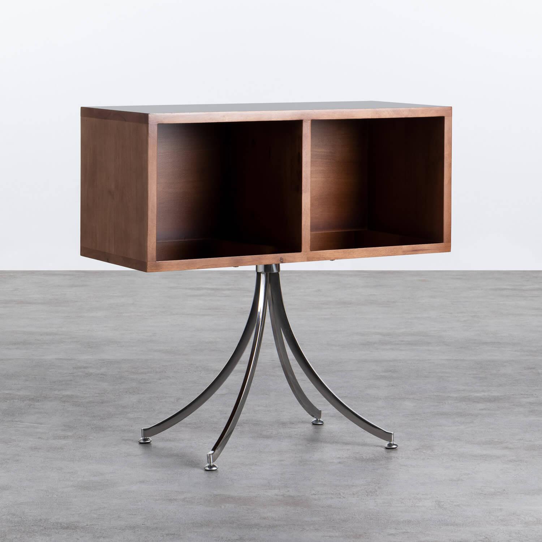 Regal aus Holz und Stahl Karthy, Galeriebild 1