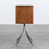 Regal aus Holz und Stahl Karthy, Miniaturansicht 3