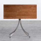 Regal aus Holz und Stahl Karthy, Miniaturansicht 4