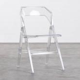 Esszimmerstuhl aus Polycarbonat Flex Clic, Miniaturansicht 1