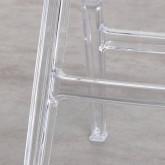 Esszimmerstuhl aus Polycarbonat Flex Clic, Miniaturansicht 7