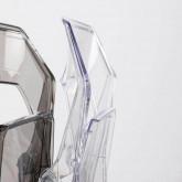 Esszimmerstuhl aus Polycarbonat Flex Clic, Miniaturansicht 3