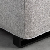 Sofa Chaiselongue links 4-Sitzer- aus Stoff Vogle, Miniaturansicht 5
