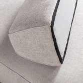Sofa Chaiselongue links 4-Sitzer- aus Stoff Vogle, Miniaturansicht 6