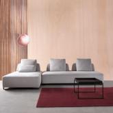 Sofa Chaiselongue links 4-Sitzer- aus Stoff Vogle, Miniaturansicht 2