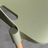 Esszimmerstuhl aus Polypropylen und Holz Odwor, Miniaturansicht 7