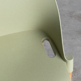 Esszimmerstuhl aus Polypropylen und Holz Odwor, Miniaturansicht 8
