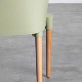 Esszimmerstuhl aus Polypropylen und Holz Odwor, Miniaturansicht 9