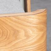 Bettsofa Chaise Longue Left 3-Sitzer- aus Stoff  Nato, Miniaturansicht 11