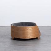 Ovales Holzbett für Katzen und Hunde Prico , Miniaturansicht 3