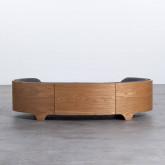 Ovales Holzbett für Katzen und Hunde Prico , Miniaturansicht 4