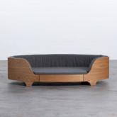 Ovales Holzbett für Katzen und Hunde Prico , Miniaturansicht 5