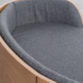 Ovales Holzbett für Katzen und Hunde Prico , Miniaturansicht 7