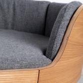 Ovales Holzbett für Katzen und Hunde Prico , Miniaturansicht 8