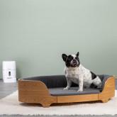 Ovales Holzbett für Katzen und Hunde Prico , Miniaturansicht 2