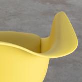 Esszimmerstuhl aus Polypropylen und Holz Fine Arms mit Kissen, Miniaturansicht 4