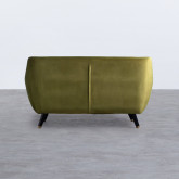 Sofa 2-Sitzer aus Samt Nubo , Miniaturansicht 3