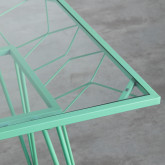 Garten-Set aus Stahl und Stoff Sagax , Miniaturansicht 8
