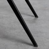Esszimmerstuhl aus Holz und Stahl Scuola, Miniaturansicht 8