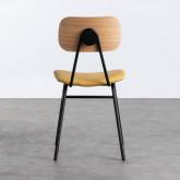 Esszimmerstuhl aus MDF und Kunstleder Tallor, Miniaturansicht 4
