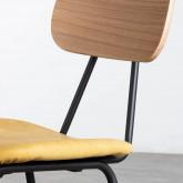 Esszimmerstuhl aus MDF und Kunstleder Tallor, Miniaturansicht 6