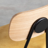 Esszimmerstuhl aus MDF und Kunstleder Tallor, Miniaturansicht 7