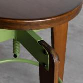 Hoher verstellbarer Hocker aus Holz Role (71-77 cm), Miniaturansicht 5