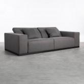 3-Sitzer-Sofa in Tamam-Stoff, Miniaturansicht 4