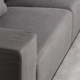 3-Sitzer-Sofa in Tamam-Stoff, Miniaturansicht 8
