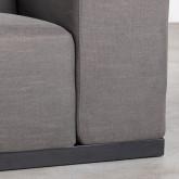 3-Sitzer-Sofa in Tamam-Stoff, Miniaturansicht 10