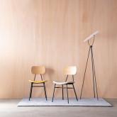 Esszimmerstuhl aus MDF und Kunstleder Tallor, Miniaturansicht 2