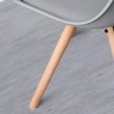 Esszimmerstuhl aus Polypropylen und Holz Stella, Miniaturansicht 6