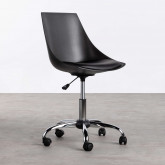 Verstellbarer Bürostuhl mit Rädern Stile, Miniaturansicht 2