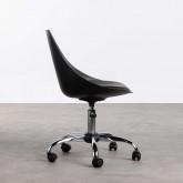 Verstellbarer Bürostuhl mit Rädern Stile, Miniaturansicht 3